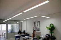 iluminación led oficinas Barcelona