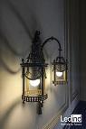 iluminación led vintage colegio