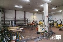 Instalación en talleres industriales