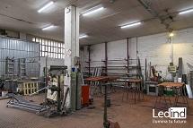 iluminación led talleres industriales