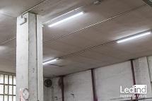 iluminación led talleres
