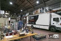 iluminació en tallers industrial rpm
