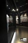 iluminació led vitrina museu