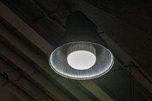 iluminación led túnel de lavado Barcelona