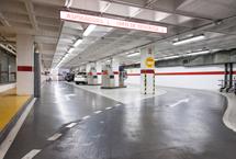 iluminación led túnel de lavado a presión