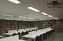 iluminación led colegio