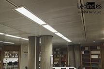 iluminación led colegios