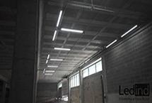 iluminación led concessionari Dacia
