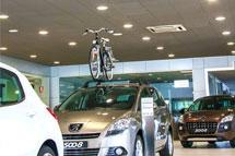 iluminación led concesionarios Volvo