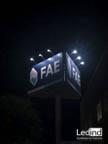 il·luminació exterior cartell FAE