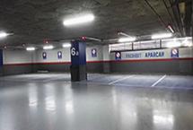 iluminación led estacionamientos