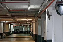 iluminación led aparcamiento