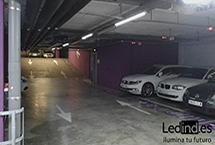 iluminación led garaje
