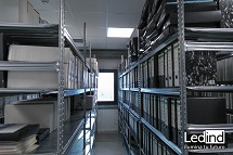 ilumina almacén archivos