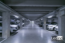 iluminación led parking