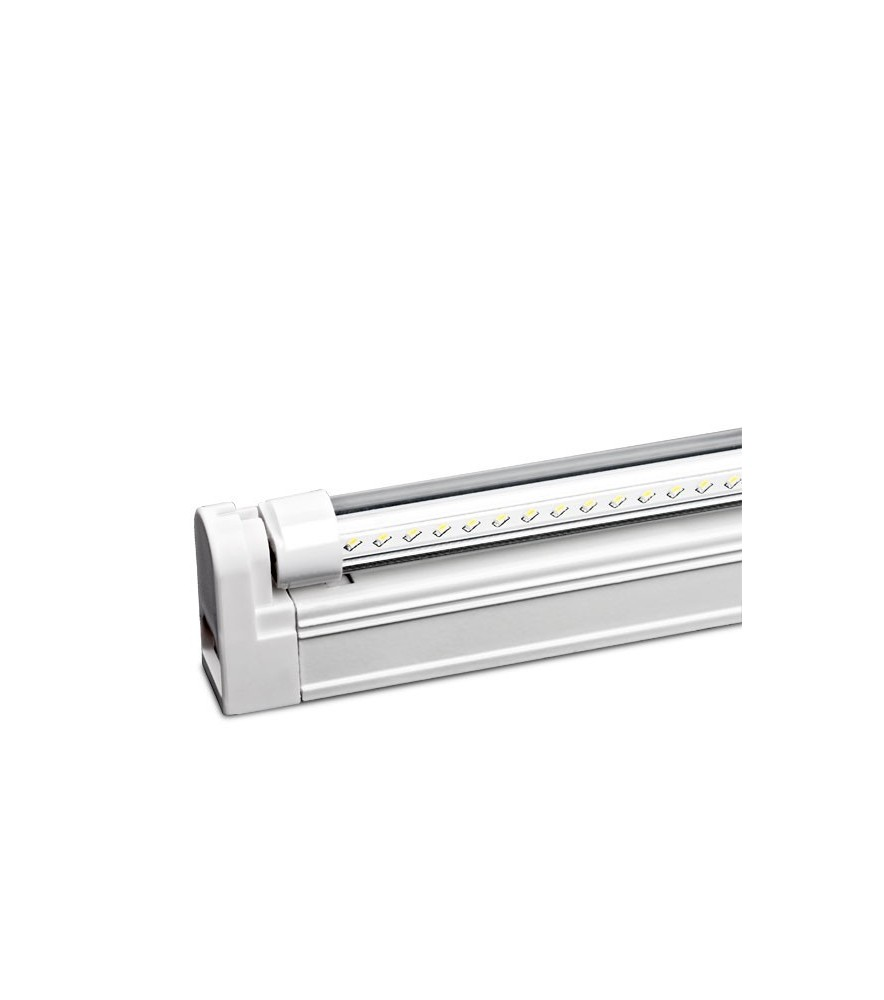 Tubo LED T5 transparente 55 cm