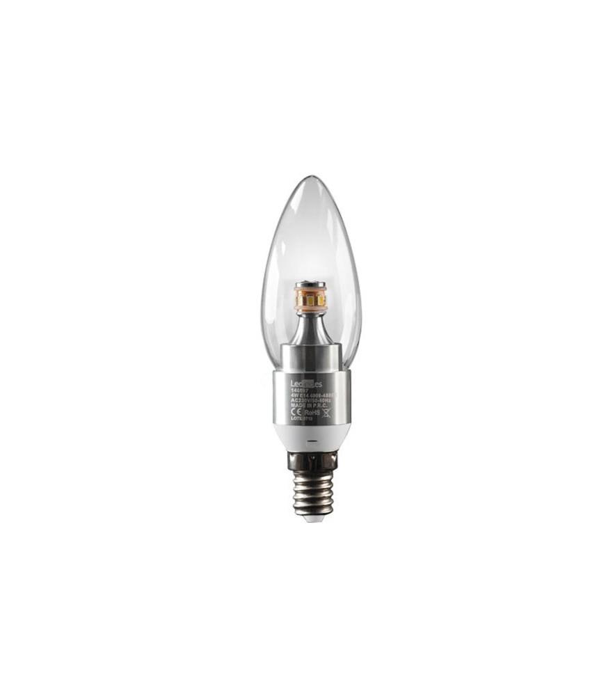 Bombilla LED Vela E14 4 W