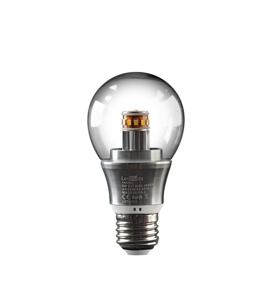 Bombilla LED Esférica E27 6 W