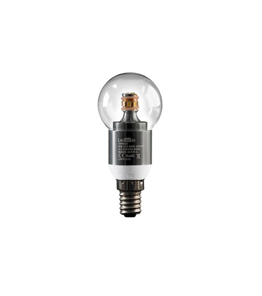 Bombilla LED Esférica E14 4W BC
