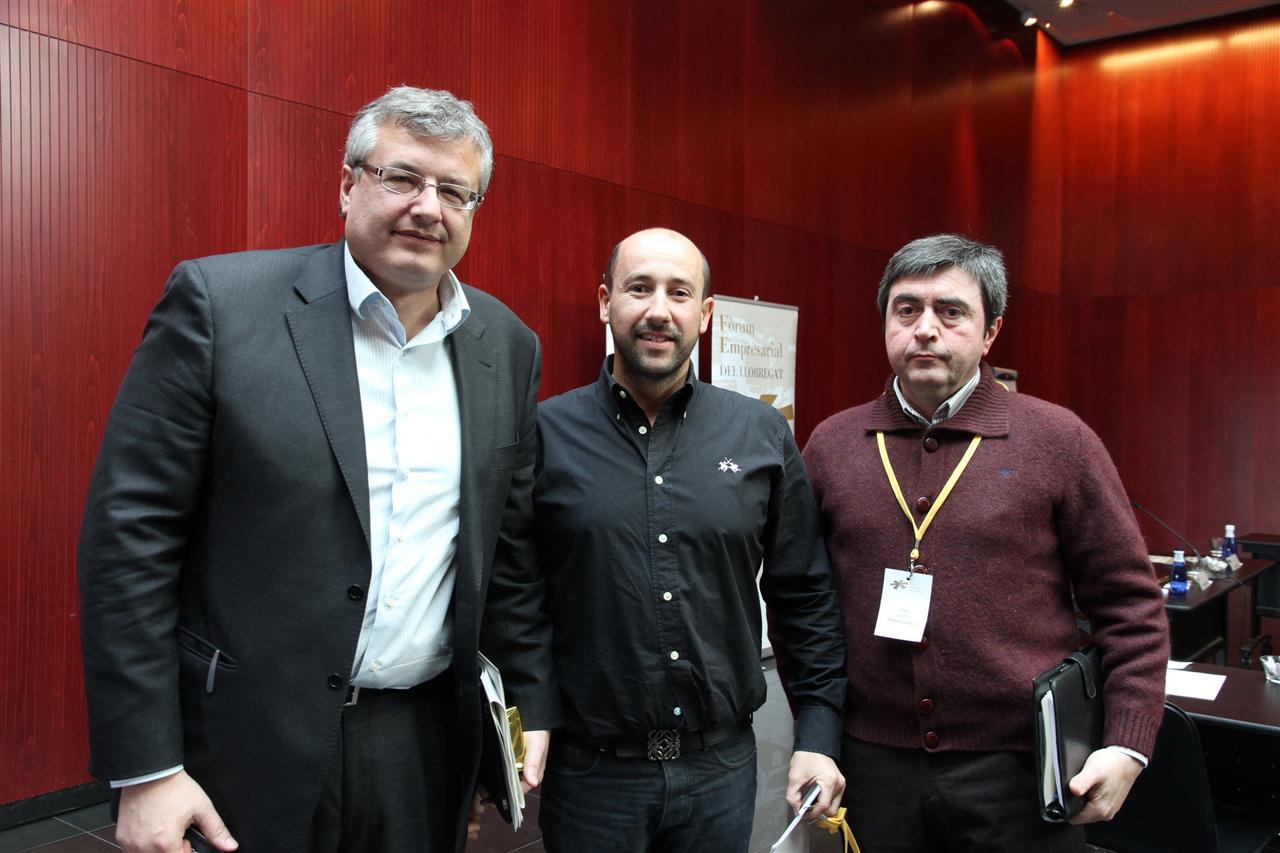 Ledind - Disgol Group amb l'Alcalde de Gavà