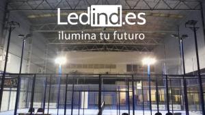 Iluminación LED para pistas de pádel