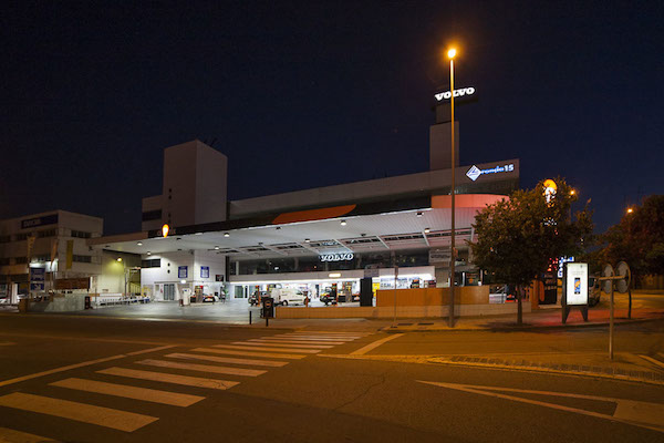 luz led para areas de servicio