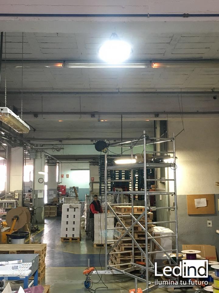 luz led para imprenta