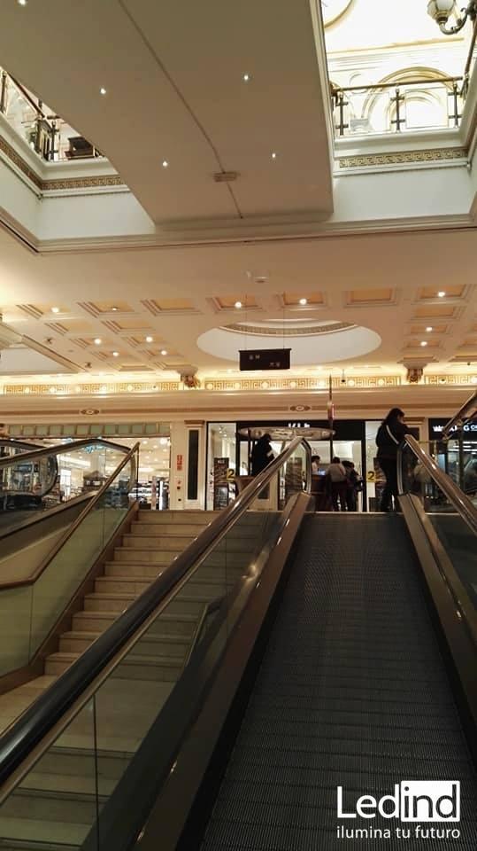 luz led para centro comercial
