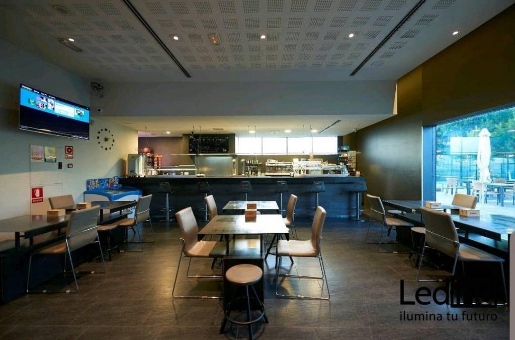 Luz led para restaurantes