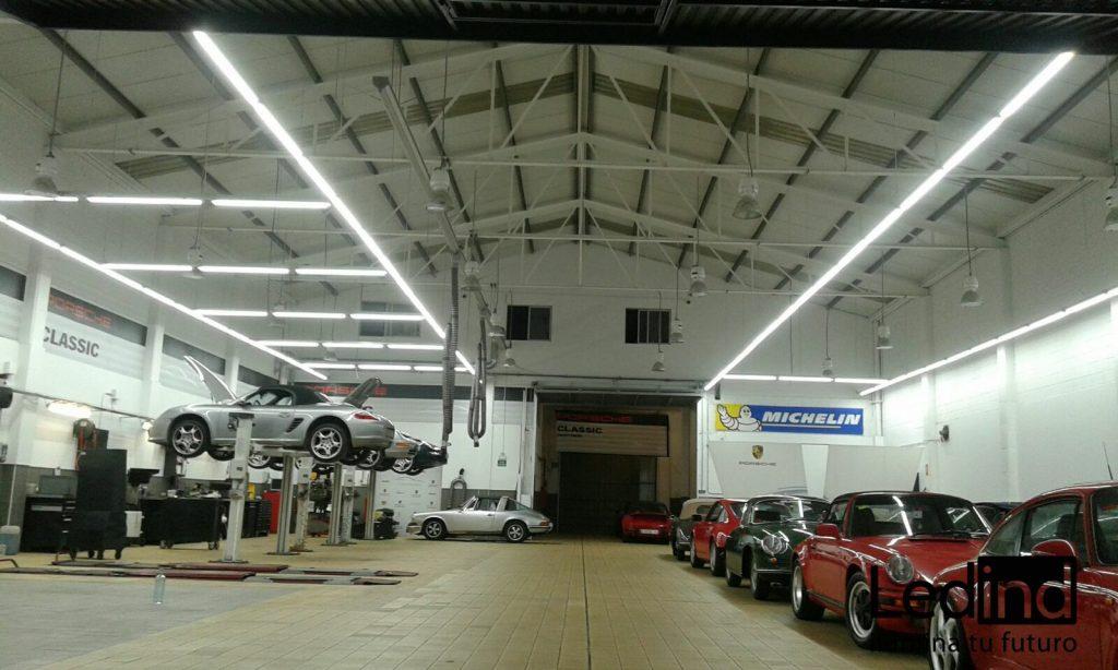 luz led para taller