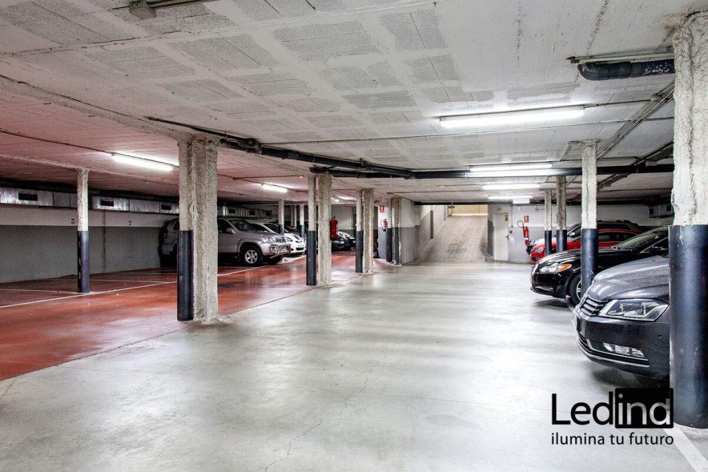 luz led para parkings