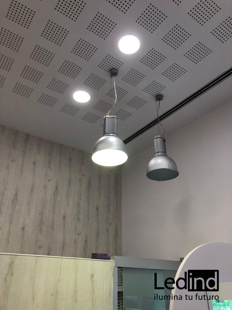 Iluminación LED para peluquerías